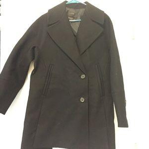 J. Crew Wool Melton Swing Coat